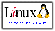 Linux Registered User